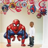 Giant Gliding Spider-Man Webbed Wonder Balloon | Amscannull