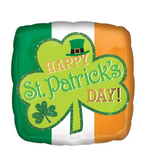 Irish Happy St. Patrick's Day Balloon, 18-in