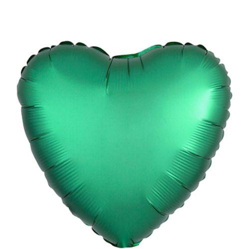 Ballon en coeur satiné, 18 po