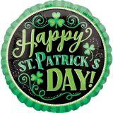 Ballon Happy St. Patrick's Day, 18 po | Amscannull