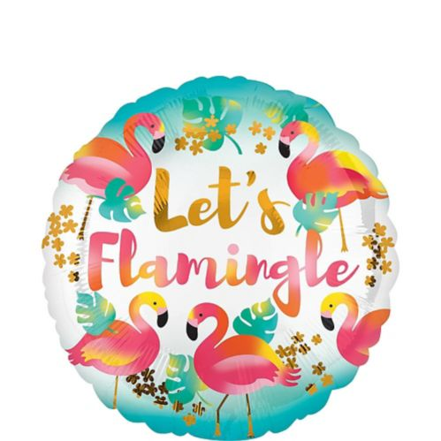 Ballon Let's Flamingle, 17 po