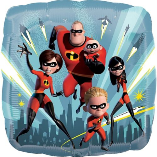 Incredibles 2 Balloon, 17-in