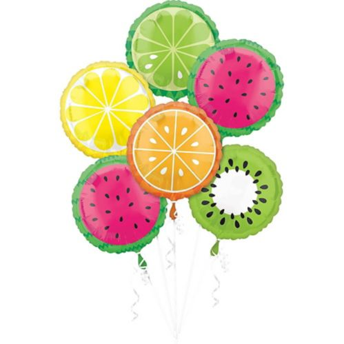 Fruit Balloons, 6-pk