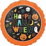 Ballon amis d'Halloween, 17 po | Amscannull