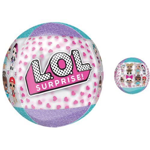 L.O.L. Surprise! Ballon Orbz transparent