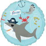 Ahoy Nautical Birthday Balloon | Amscannull