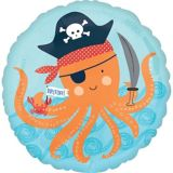 Ballon d'anniversaire, thème nautique, Ahoy | Amscannull