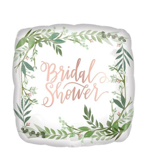 Floral Greenery Bridal Shower Balloon