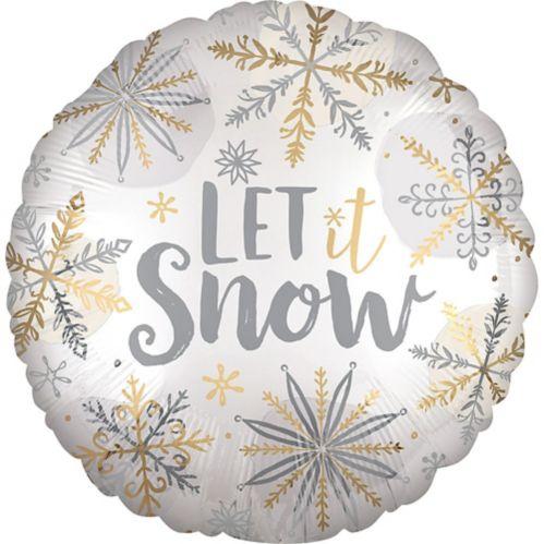 Ballon Let It Snow, 18 po