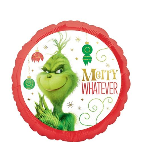 Grinch Merry Whatever Balloon
