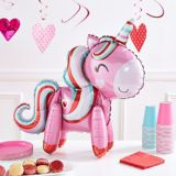 Air-Filled Magical Love Unicorn Balloon, 22-in | Amscannull