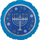 Hanukkah Celebrations Balloon, 17-in | Amscannull