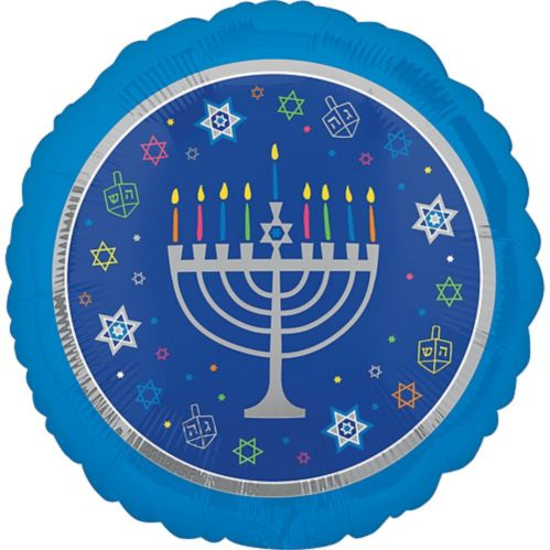 Hanukkah Celebrations Balloon, 17-in