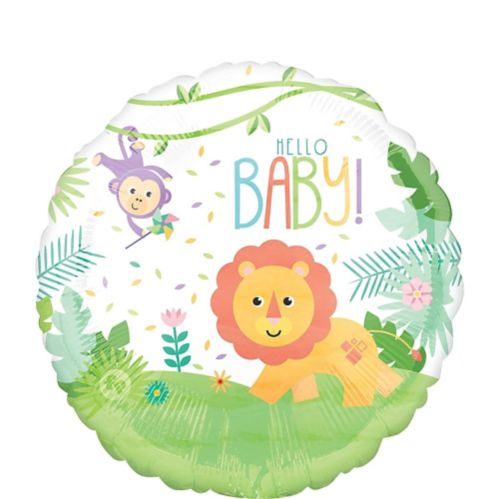 Fisher-Price Hello Baby Balloon, 17-in
