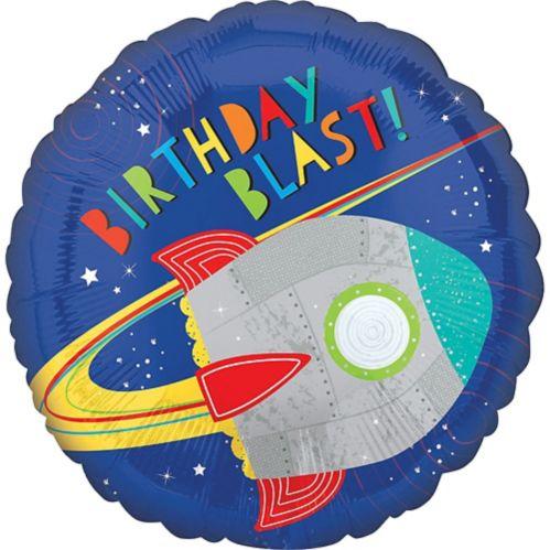 Ballon, décollage de fusée