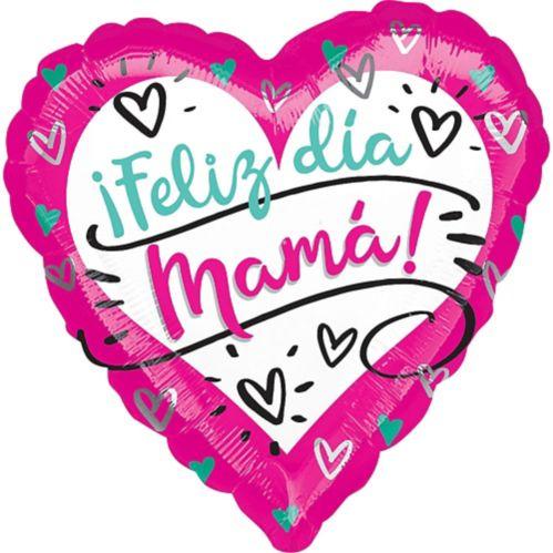 Ballon Feliz Dia Mama, 17 po