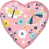 Butterfly Mother's Day Heart Balloon, 26-in | Amscannull