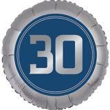 Ballon 30e anniversaire, bonne fête rétro | Amscannull