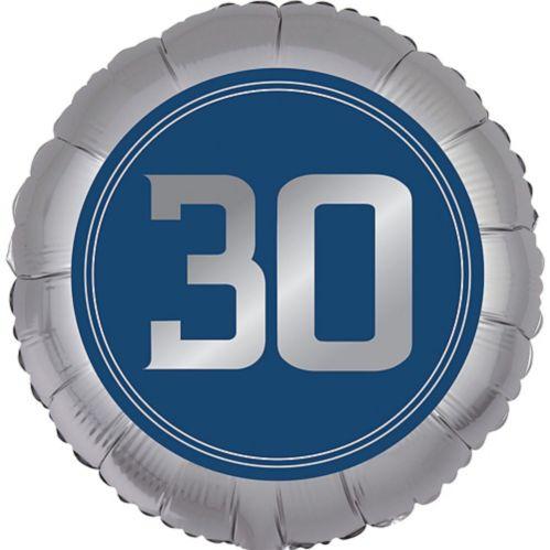 Ballon 30e anniversaire, bonne fête rétro