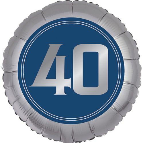 Vintage Happy Birthday 40th Birthday Balloon