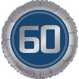 Vintage Happy Birthday 60th Birthday Balloon | Amscannull