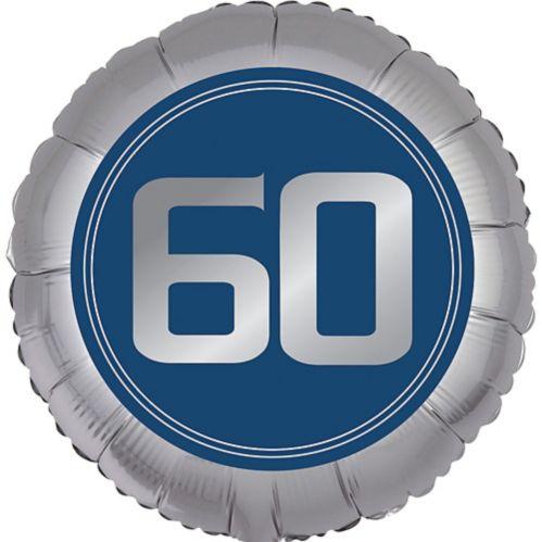 Ballon 60e anniversaire, bonne fête rétro