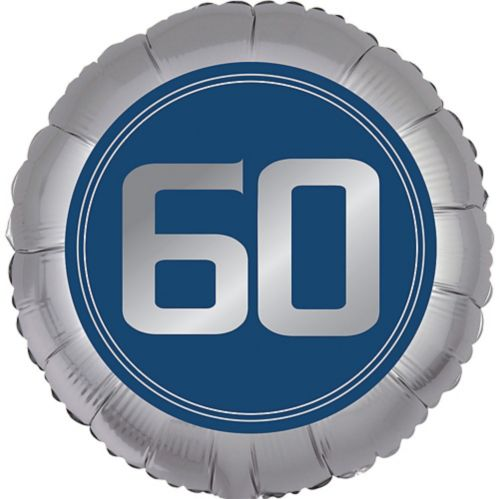 Vintage Happy Birthday 60th Birthday Balloon
