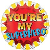 Ballon de la fête des Pères, You're My Superhero, 19 po | Amscannull