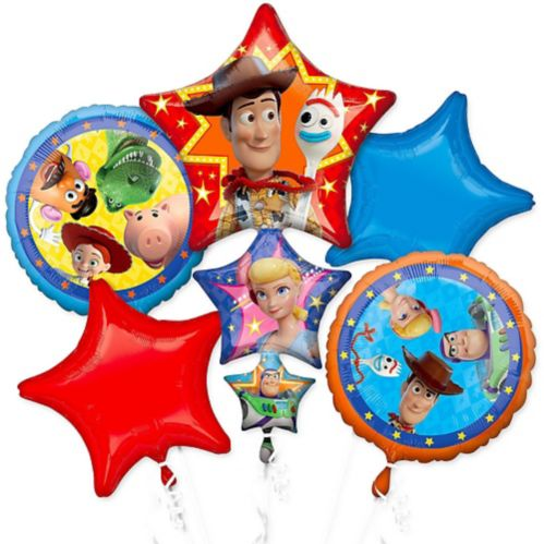Toy Story 4 Balloon Bouquet, 5-pc