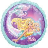 Ballon d'anniversaire, Barbie sirène | Amscannull