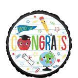 Future Dreamer Graduation Balloon, 17-in | Amscannull