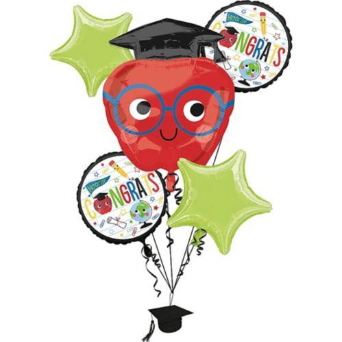 Future Dreamer Graduation Balloon Bouquet, 5-pc