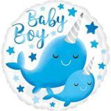 Ballon pour bébé, narval | Amscannull