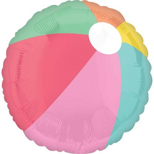 Ballon Just Chillin', ballon de plage, 17po