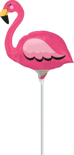 Flamingo Air Filled Mini Shape Balloon Product image