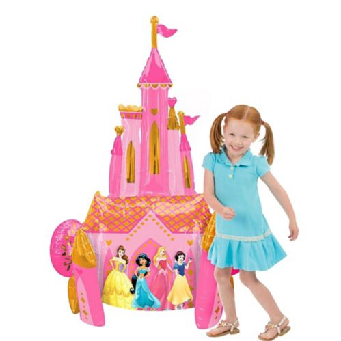 Giant Gliding Disney Princess Castle Balloon