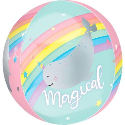 See Thru Orbz Magical Rainbow Balloon