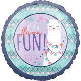 Llama Fun Celebrate Balloon   Amscannull
