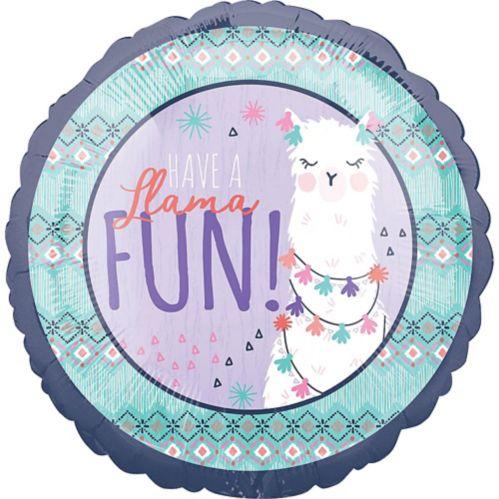 Llama Fun Celebrate Balloon
