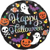 Happy Halloween Balloon, 18-in | Amscannull