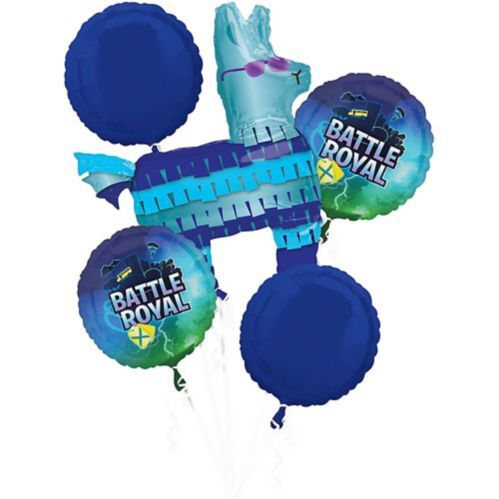 Battle Royal Balloon Bouquet, 5-pc
