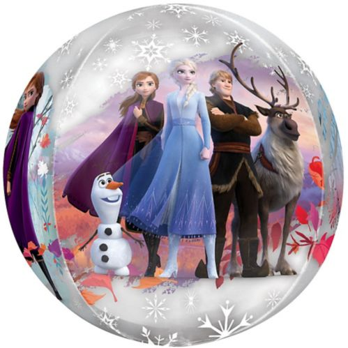 Ballon La Reine des neiges 2, See Thru Orbz