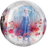 Ballon La Reine des neiges 2, See Thru Orbz | Amscannull