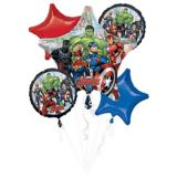 Marvel Powers Unite Balloon Bouquet, 5-pc | Amscannull