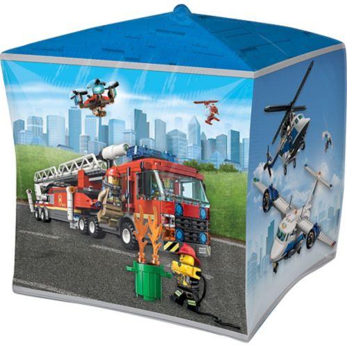 Ballon LEGO City Cubez