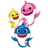 Ballon ondoyant Famille de Bébé requin | Amscannull