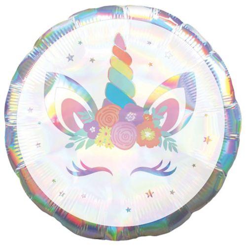 Iridescent Unicorn Balloon