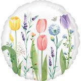 Ballon Jardin de tulipes, 17po | Amscannull