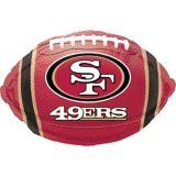Ballon de football des 49ers de San Francisco | Amscannull