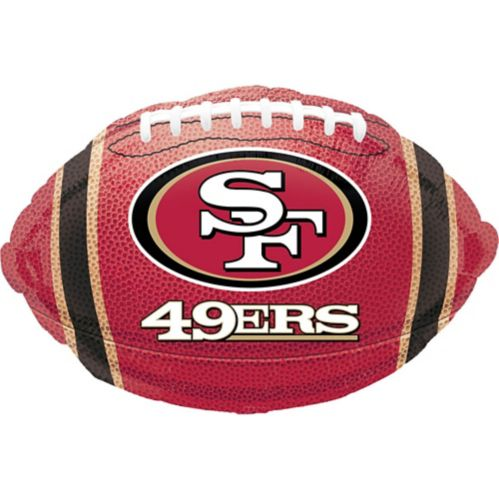 Ballon de football des 49ers de San Francisco